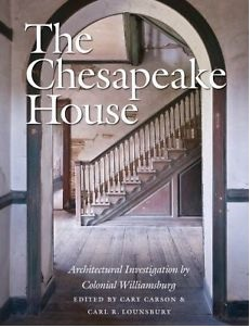 Front cover of the Chesapeake House book